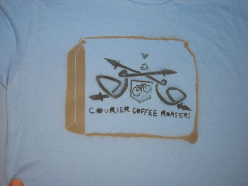 Courier Coffee Roasters Stencil 3
