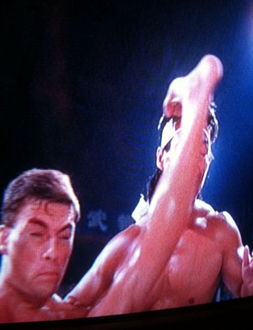 JCVD HOLY SHIT KICK FACE OW MAN MOVIE MONTH