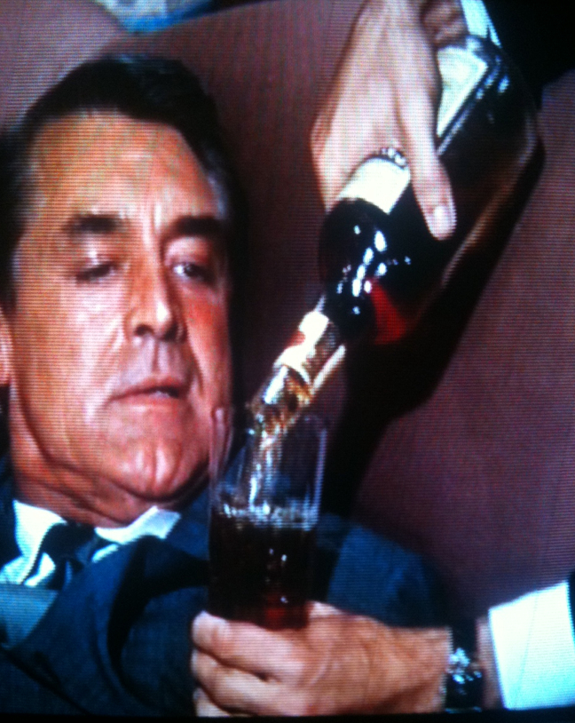 CARY DRINKS MAN MOVIE MONTH