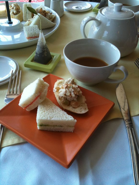 Tea Sandwiches, asst'd, Prince of Wales Hotel, Waterton, Alberta, Canada