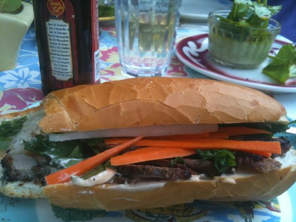 Bahn mi, webring's finer things club