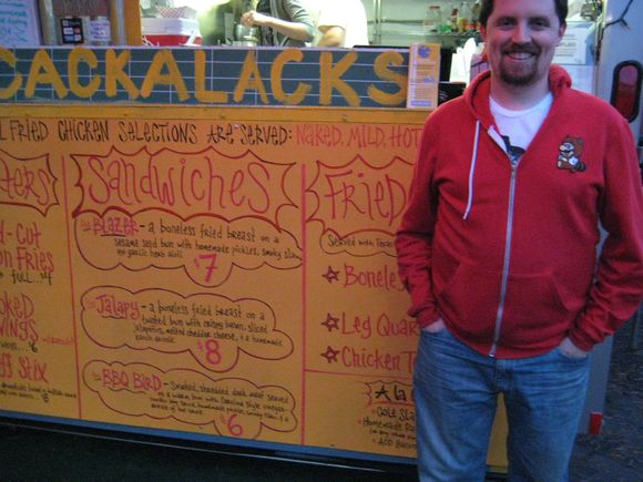 Sandwich profile: favorite sandwiches and their eaters: Cackalack's Blazer and Timmy Williams
