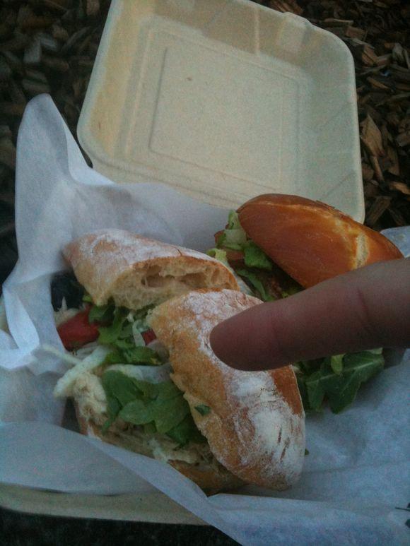 Nicoise sandwich, Lardo, Portland, OR