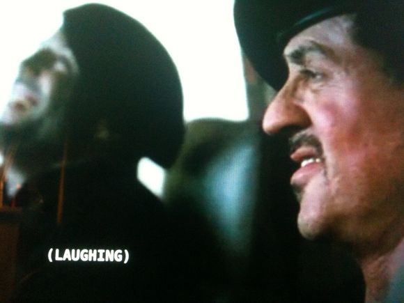 Expendables 2: a lesson in shooting machine guns and throwing knives