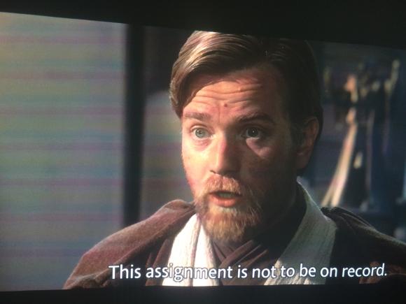 Star Wars in 1 day: Ep. 3 - dude Hayden cmon