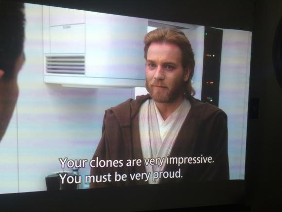 Star Wars in 1 day: Ep 2: Same clone